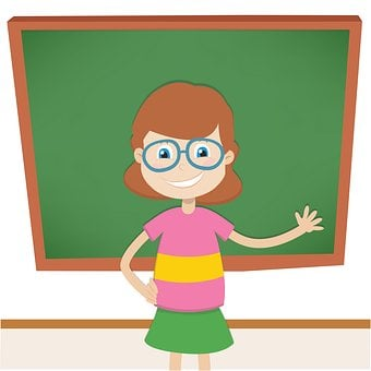 Enseignants, Tableau Noir, Enseigner