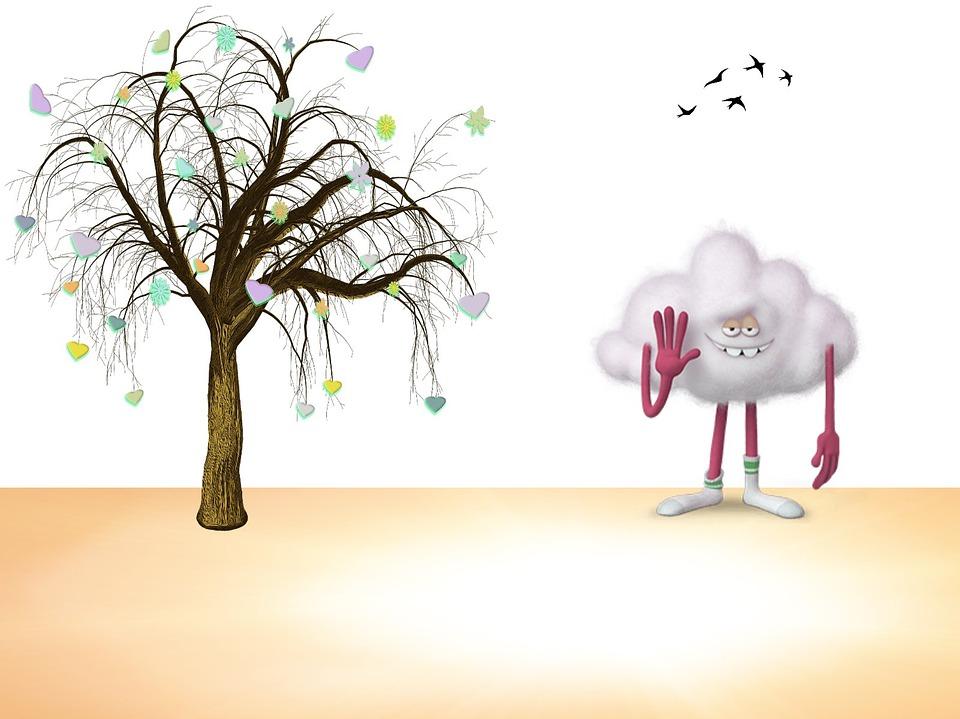 Nuvem Desenho Engracado Imagens Gratis No Pixabay