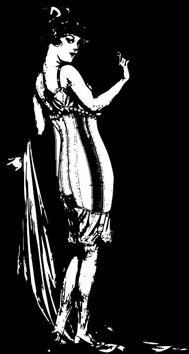lady 1900 1920s free vector graphic on pixabay rh pixabay com 1940s clip art images 1920s clip art images
