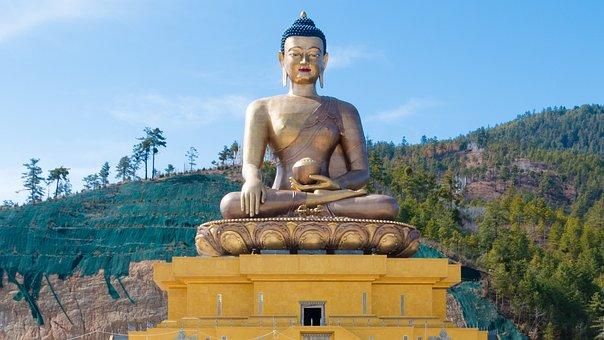 Bhutan, Buddha Dordenma Statue, Buddha