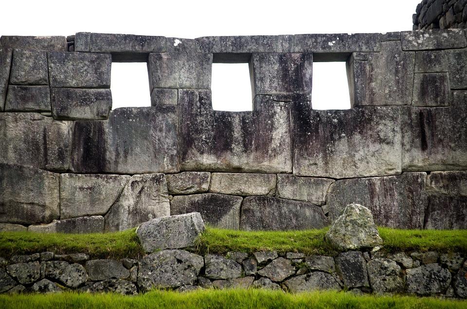 Portales Machupicchu, Piedras, Arquitectura Inca