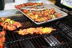 caribbean, kebab, food