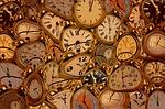 time, clock, dali