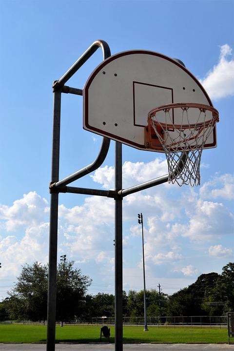 outdoor basketball court houston texas backboard