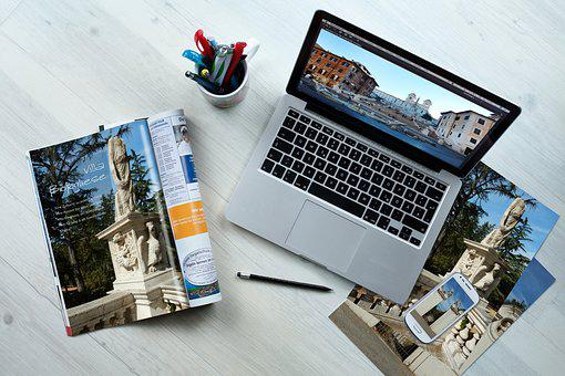 Communication, Workplace, Macbook
