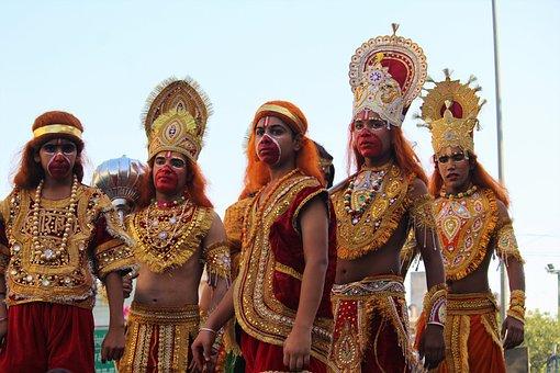 Hanuman, Dusshera, Navami, Diwali, Ravan