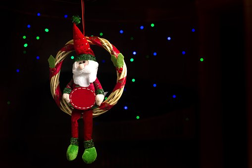 Santa Claus, Decorations