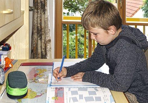 Homework, Class, Homeschooling, Learn