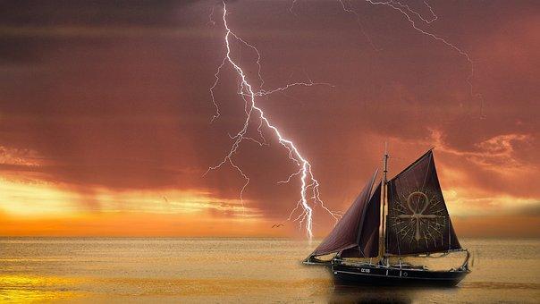 Navire, L'Équilibre, Étoiles, Magie