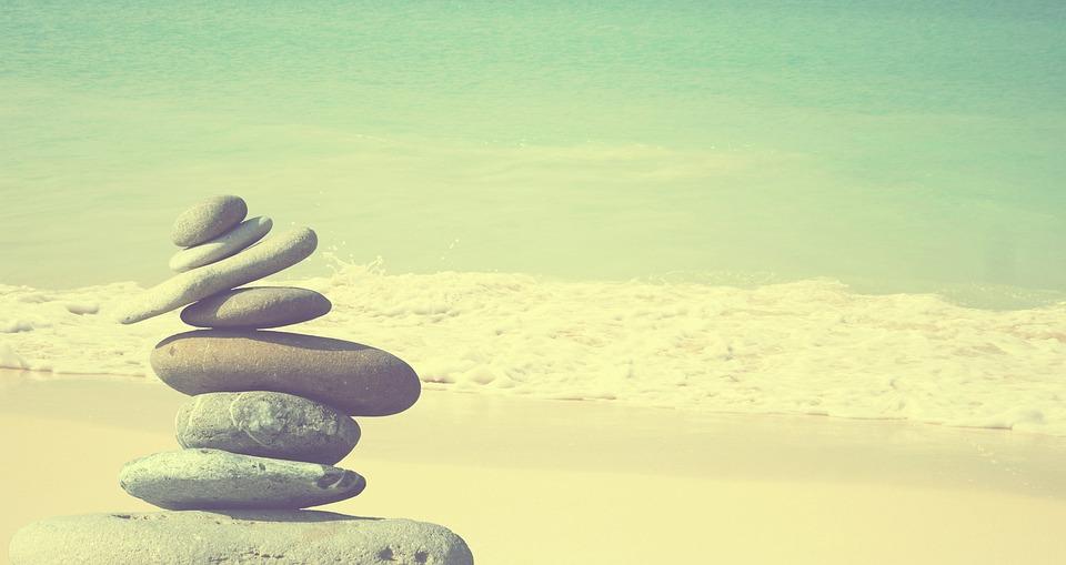 zen piedras meditacin piedra equilibrio - Piedras Zen