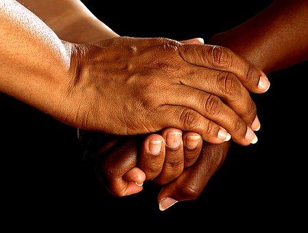 Hands, Shake, Encouragement, Together