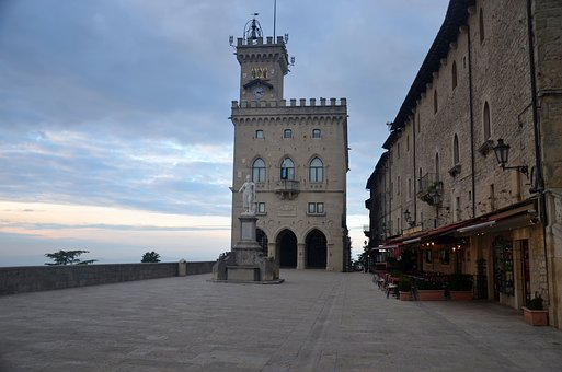 Torre, Piazza, San Marino, San Marino