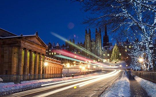 氷, 冬, 光, クリスマス, 1 月, ホワイト