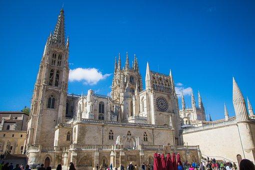 Vista Catedral de Burgos
