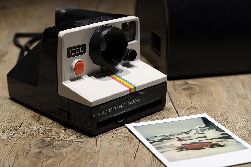 Fotoapparat, Polaroid, Kamera, Foto, Nostalgie, Retro