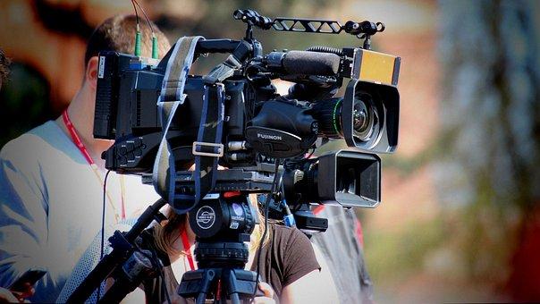 Cinematrographer behind his camera