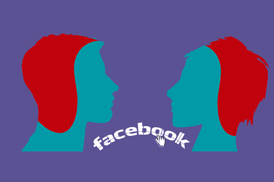 Facebook, Design, Communication, Man, Woman, Person