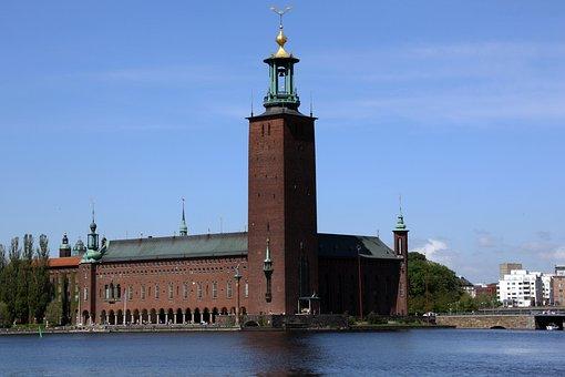 Vista del Ayuntamiento Estocolmo
