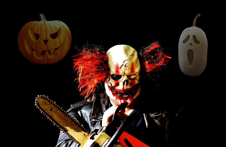 horror clown halloween free photo on pixabay. Black Bedroom Furniture Sets. Home Design Ideas