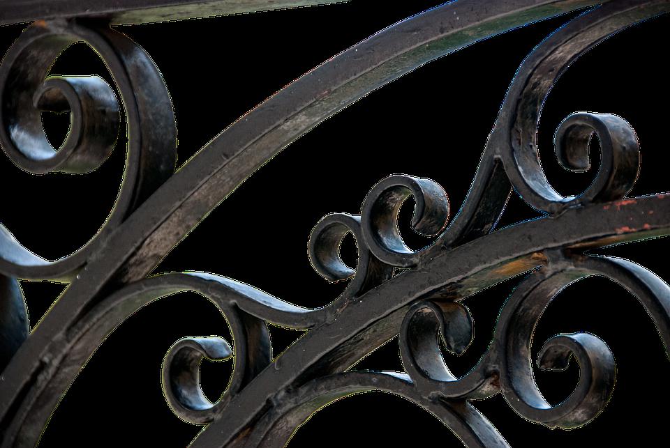 Metalen hek smeedijzer ijzeren · gratis foto op pixabay