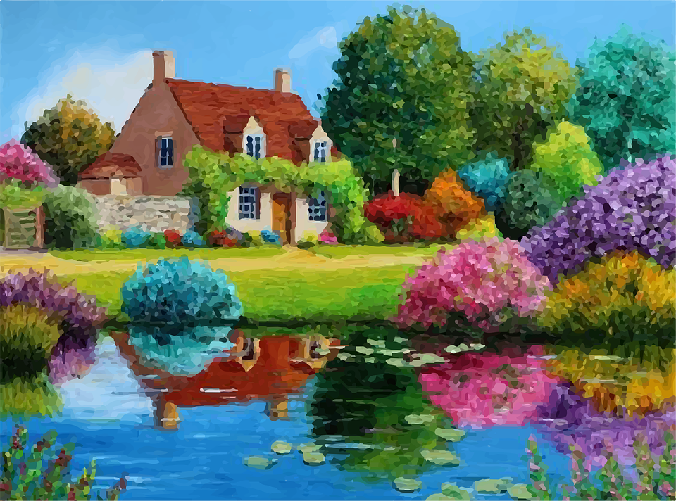 House Lake Vector · Free Vector Graphic On Pixabay