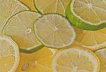 lemon, fruit, lime