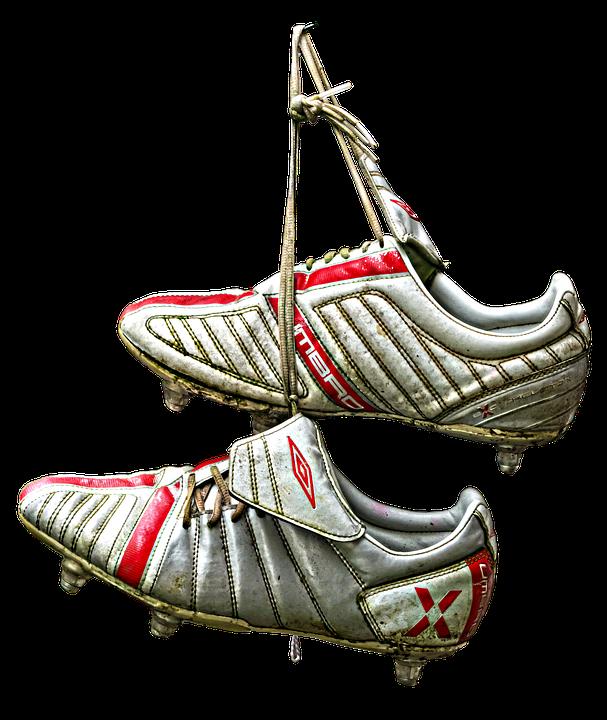 auf Gehängt Kostenloses Pixabay Schuhe Fußballschuhe Am Foto 8nPkwO0