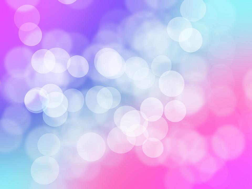 bubble background blurry pink blue purple