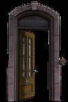 door, passage, architecture
