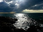 dark, storm, sky