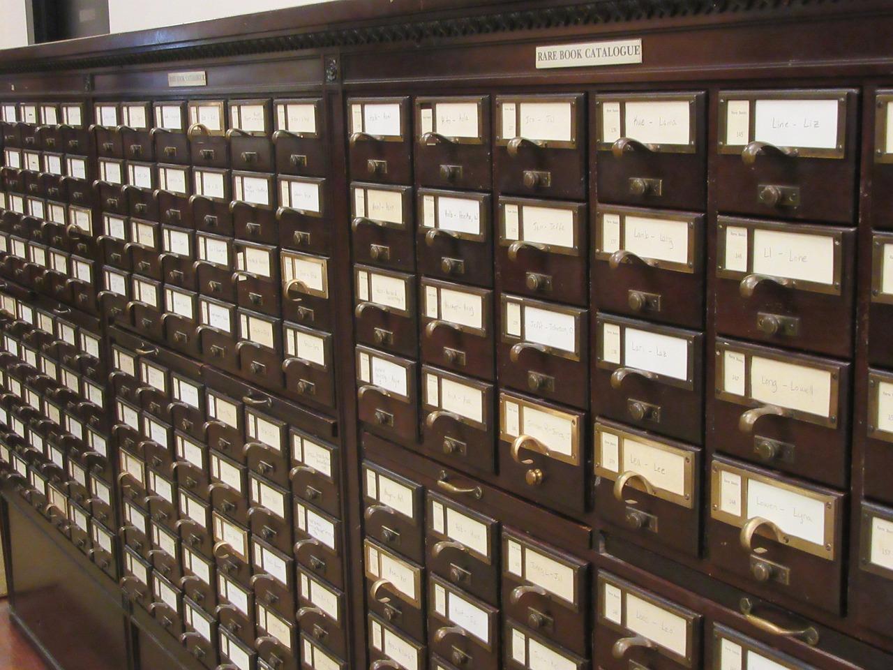 Карточный каталог картинки