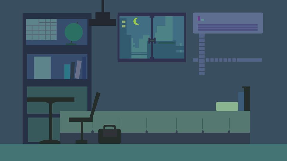 Room Night Free Vector Graphic On Pixabay