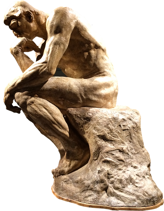 people who think rodin sculpture  u00b7 free photo on pixabay greek sculpture clipart sculptor clip art