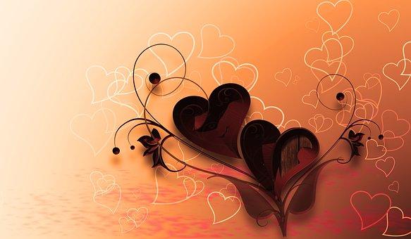 Heart Love Background Valentines Day