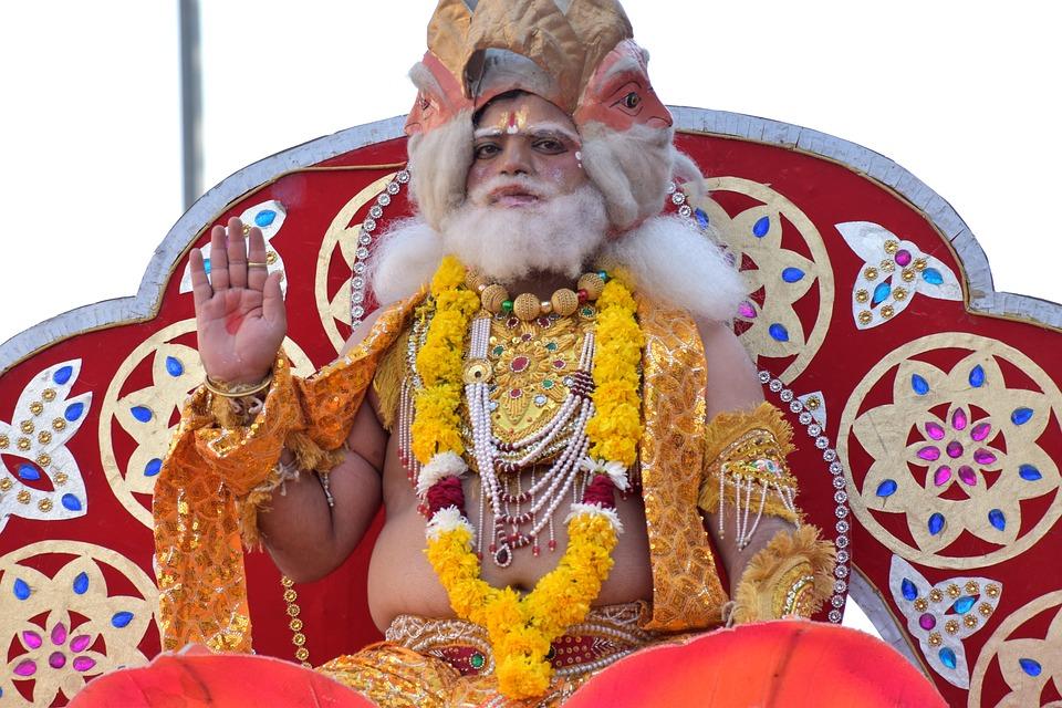 Array - god brahma creator in hinduism    free photo on pixabay  rh   pixabay com