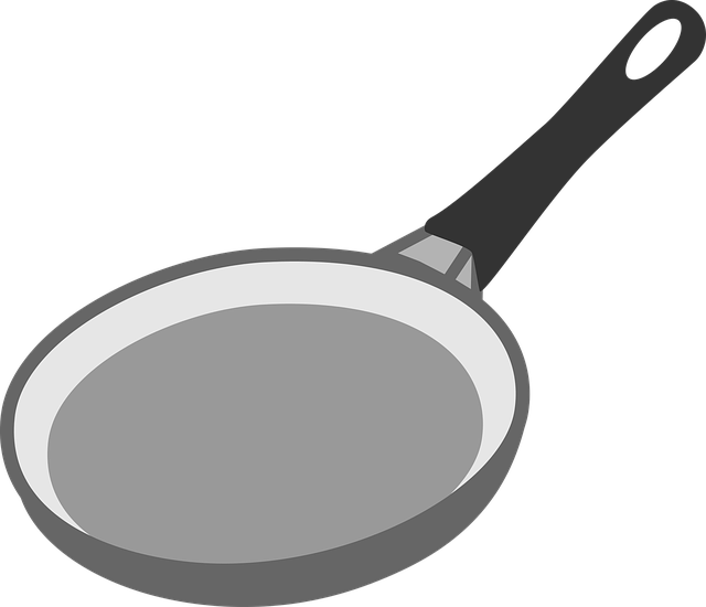 Pan Frying Kitchen 183 Free Vector Graphic On Pixabay