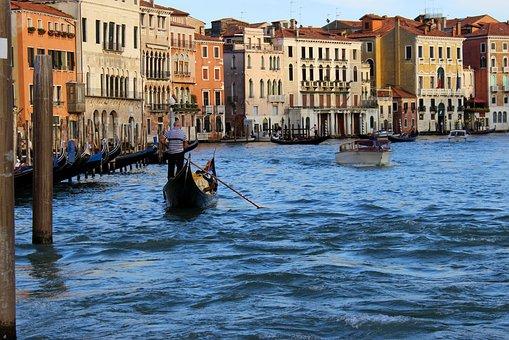Gndola Paseo En Gndola Venecia