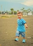run, baby, child
