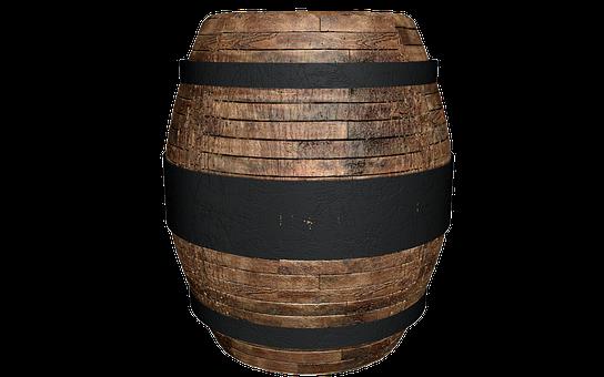 Wooden Barrels, Barrel, Wine Barrel