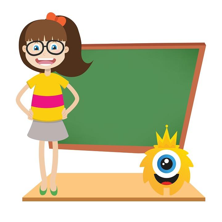 Tafel schreiben clipart  Kostenlose Illustration: Tafel, Kinder, Niedlich, Abbildung ...