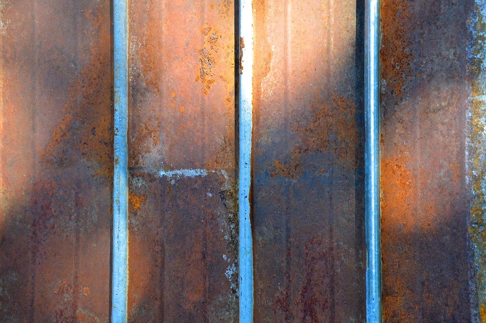 Rost Blech Wellblech Kostenloses Foto Auf Pixabay