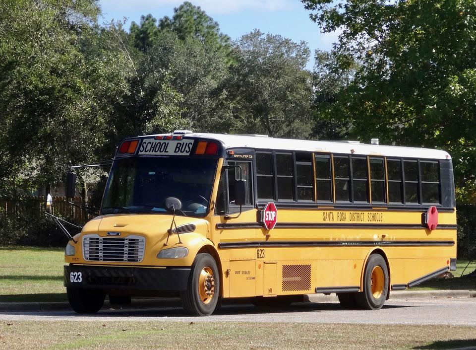 Bus Van De School, Geel, Onderwijs, Vervoer, Bus
