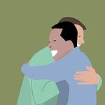 hugs, friendship, business