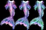 mermaid, merman, merfolk