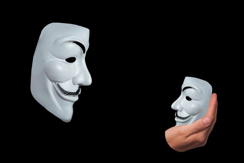 自己認識, マスク, 匿名, 知識, ミラー イメージ, 自己, 自己反射, 反射, 思考, 自己観察