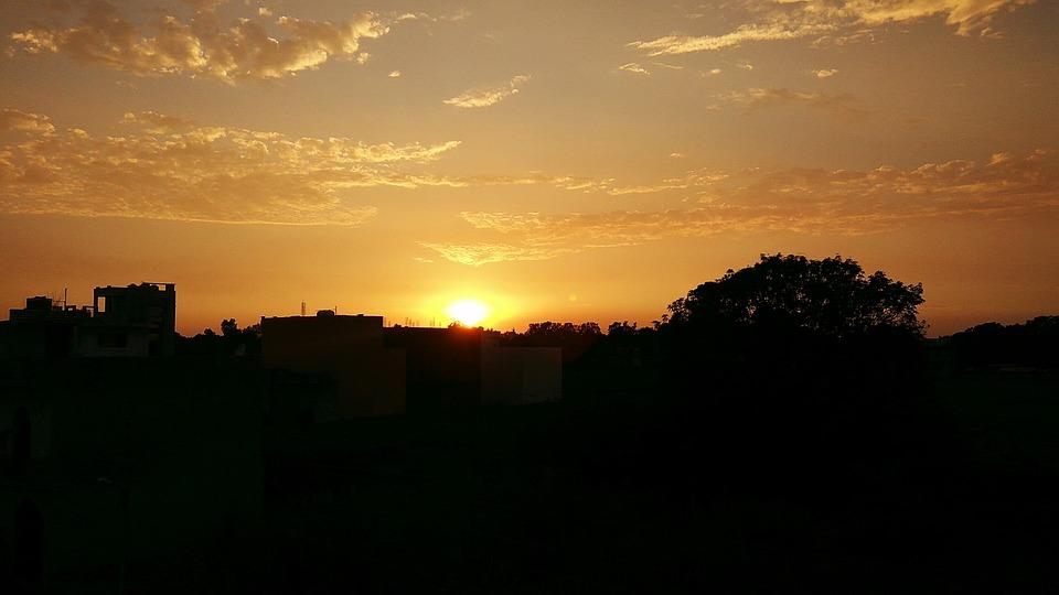 免费照片: 日落, 哈里瓦, 北阿坎德邦 - Pixabay上