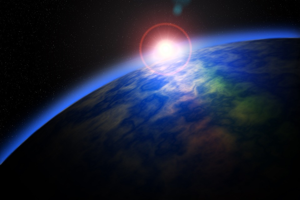 Space Star Planet Sun Sunrise Universe Cosmos