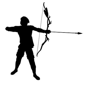 Archer, Bogenschießen, Bogen, Pfeil