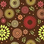 floral, pattern, design