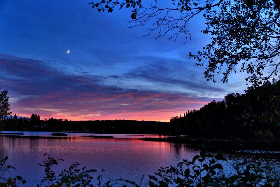 Sunset Landscape Colors · Free Photo On Pixabay